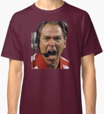 Nick Saban The Hulk Classic T-Shirt