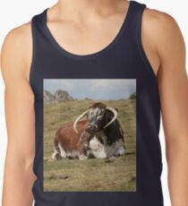 english longhorn Tank Top