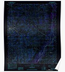USGS TOPO Map Mississippi MS Hernando 335792 1982 24000 Inverted Poster