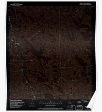 USGS TOPO Map Louisiana LA Mink Bayou 332773 1994 24000 Inverted Poster