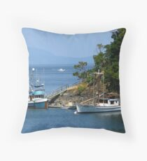 Vancouver Island Throw Pillow