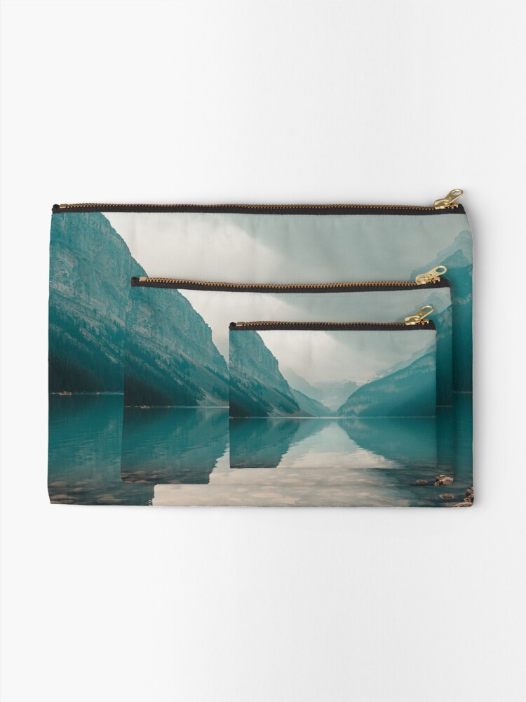 Alternate view of Lake Louise, Canada Zipper Pouch