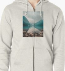 Lake Louise, Canada Zipped Hoodie
