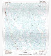 USGS TOPO Map Louisiana LA Mink Bayou 332773 1994 24000 Poster