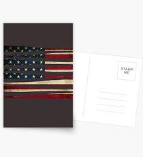 America baseball flag Postcards
