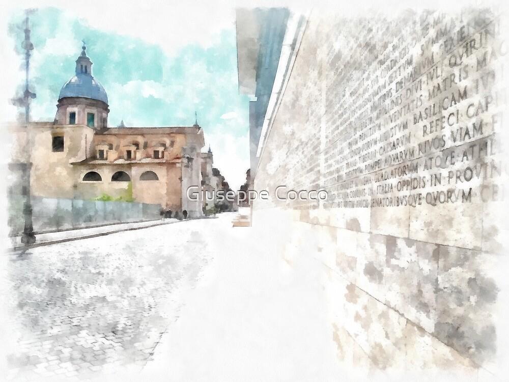 Rome: Augusto Imperatore square by Giuseppe Cocco