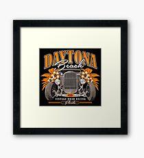 Daytona Vintage Road Racing Framed Print