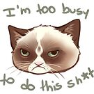 Too Busy by Hyanna
