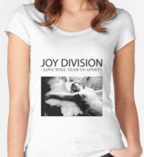 Joy D Women's Fitted Scoop T-Shirt