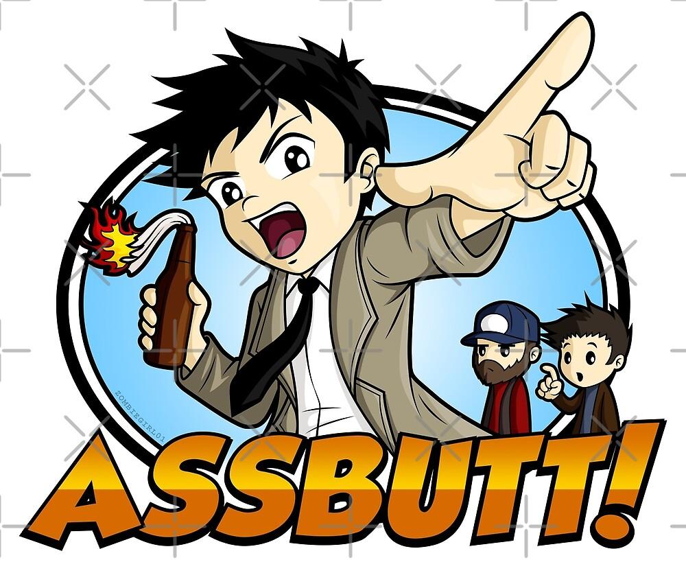 Hey Assbutt! by zombiegirl01