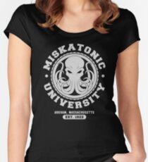 Miskatonic University Fitted Scoop T-Shirt