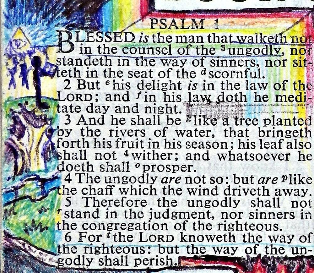 PSALM 1  by Calgacus