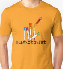 Phlebotomist Vacutainer Art T-Shirt