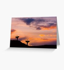 Colorful Sky Communications Greeting Card