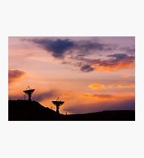 Colorful Sky Communications Photographic Print
