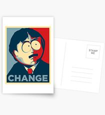 South Park Change  Postcards