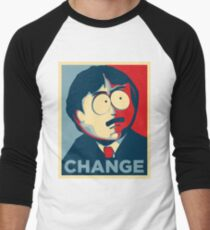 South Park Change  Men's Baseball ¾ T-Shirt