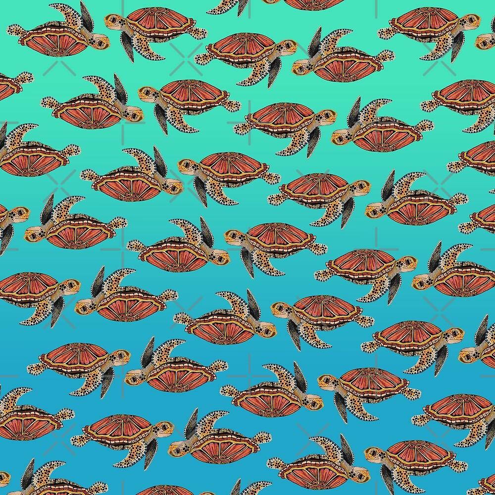 Sea Turtle Pattern by Free-Spirit-Meg