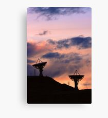 Colorful Sunset Communications Canvas Print