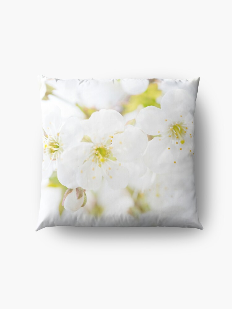 Alternate view of Ethereal Blossoms Floor Pillow