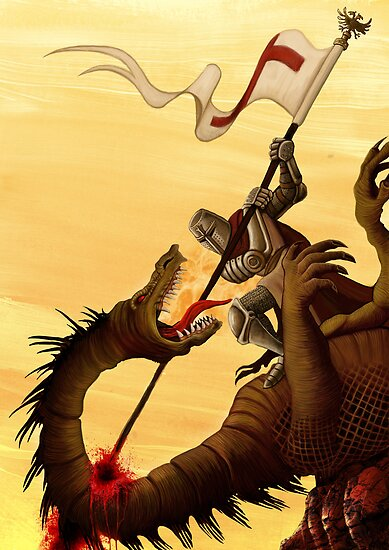 Saint George and the Dragon by Crusader