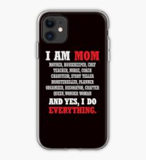 I am a Mom All Occupations iPhone Case