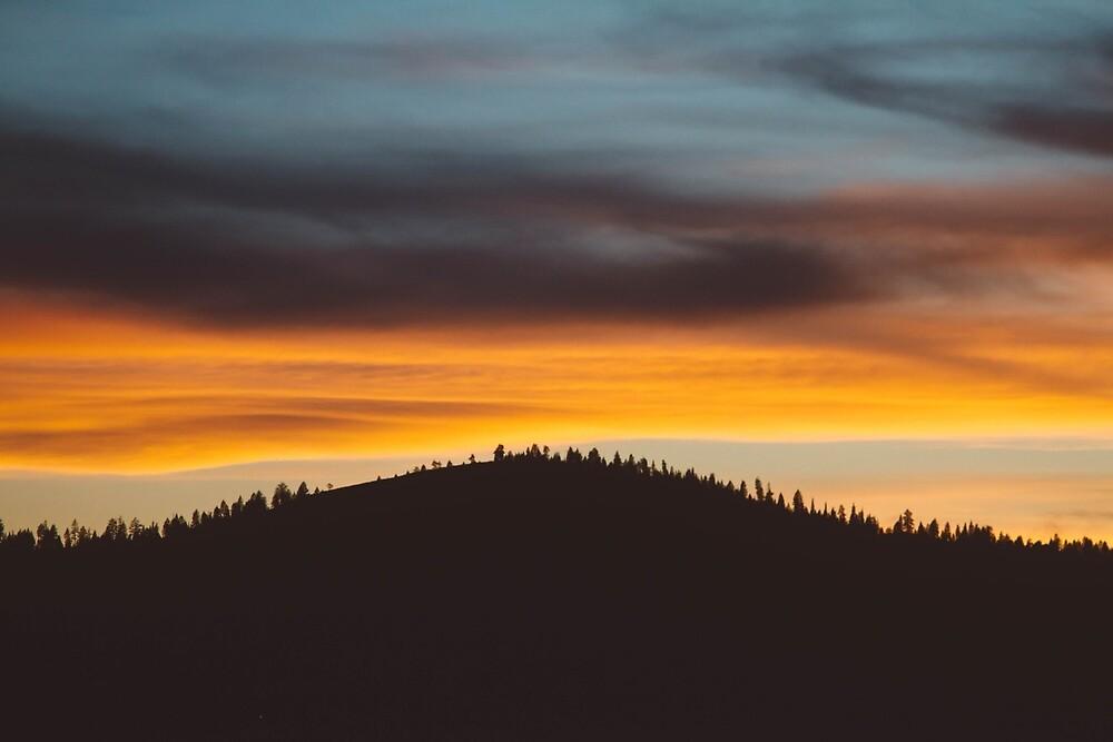 Dark Side of the Sunset by Wonder Arts