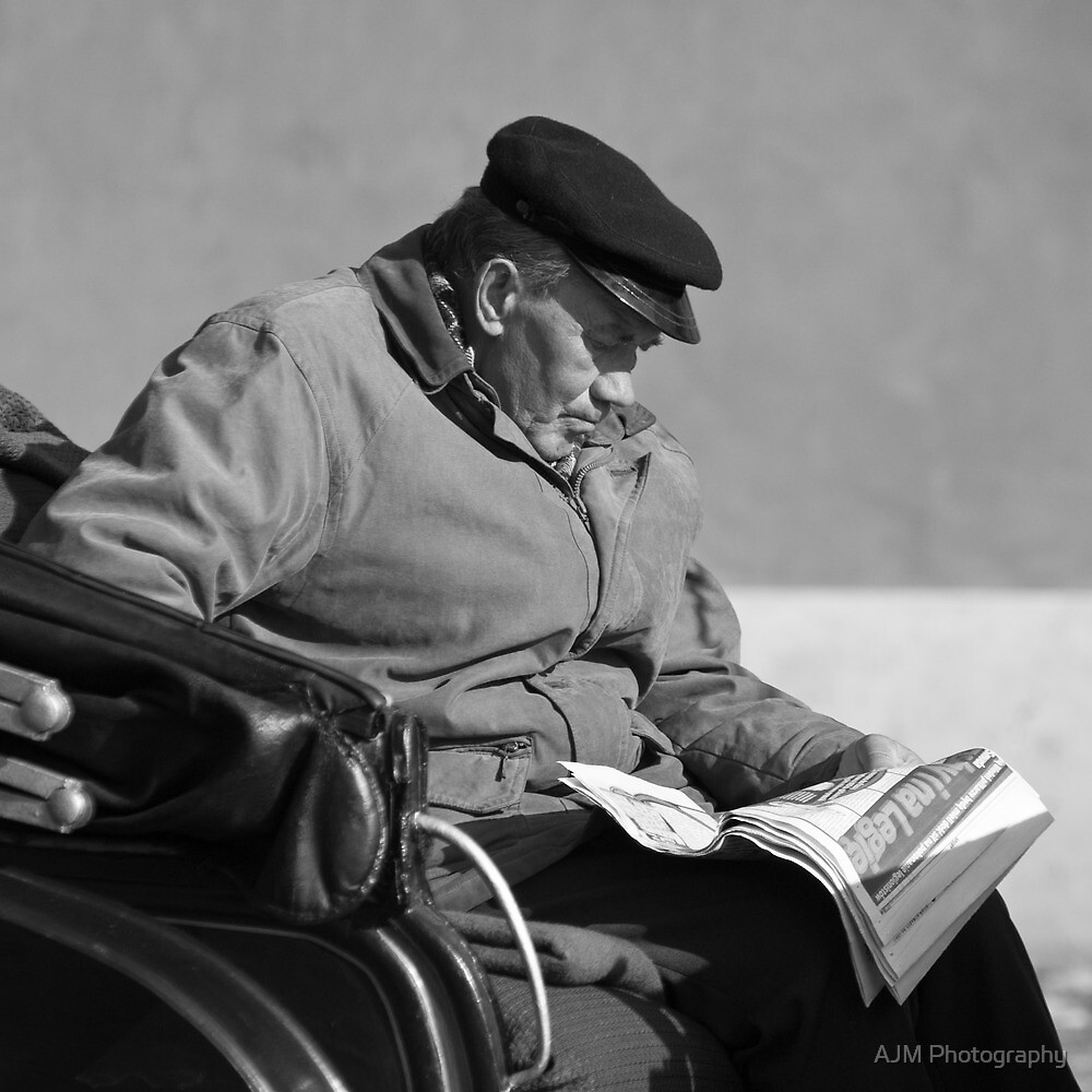 Waiting for a fare by AJM Photography