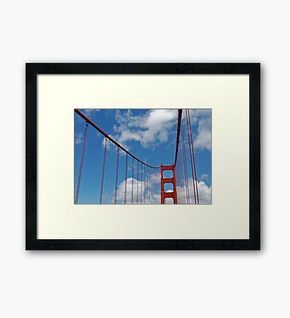 Golden Gate Span1 Framed Print