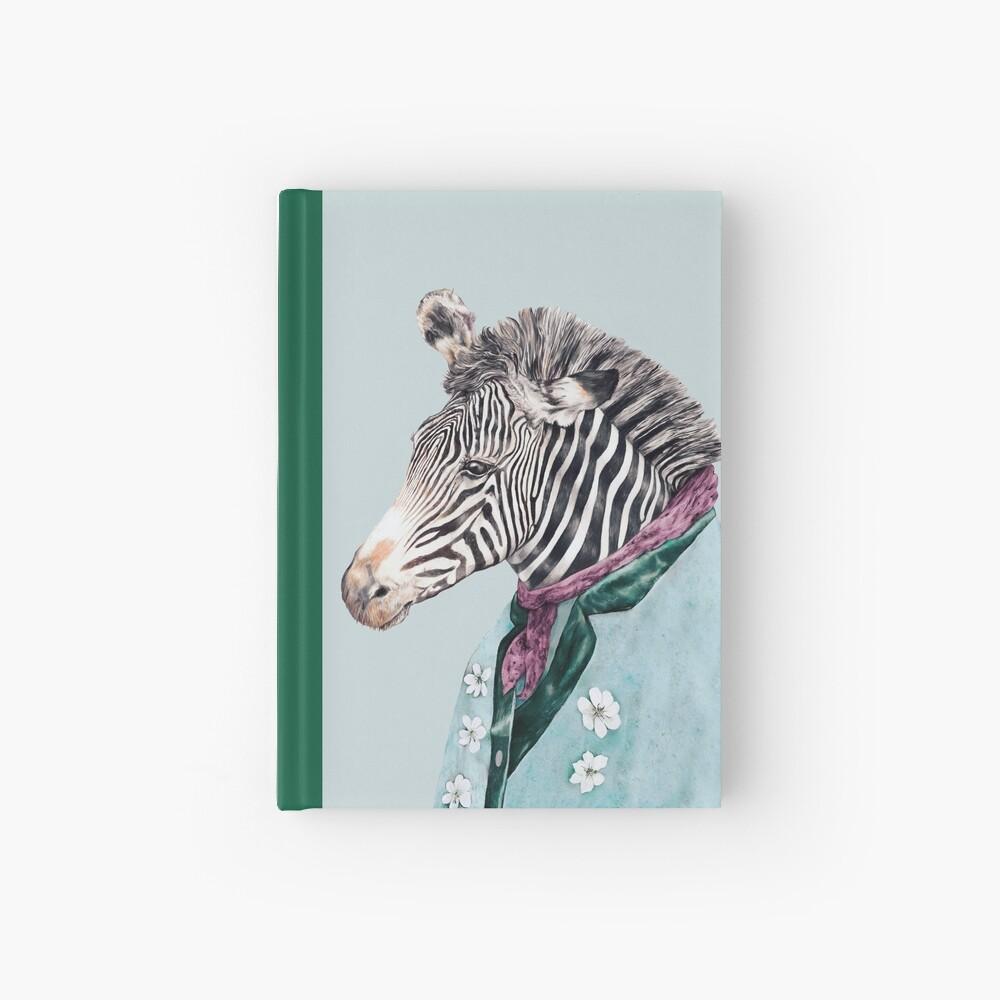 Zebra-Blau Notizbuch