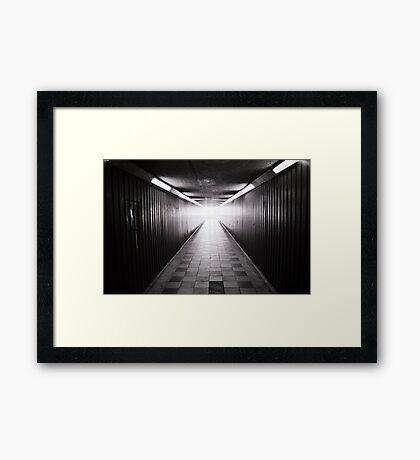 Blackfriars underpass Framed Print