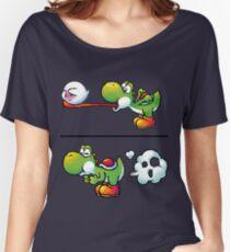 Farting Yoshi Women's Relaxed Fit T-Shirt