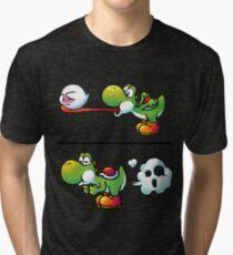 Camiseta de tejido mixto Farting Yoshi