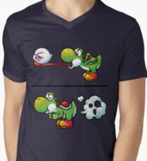 Farting Yoshi Men's V-Neck T-Shirt