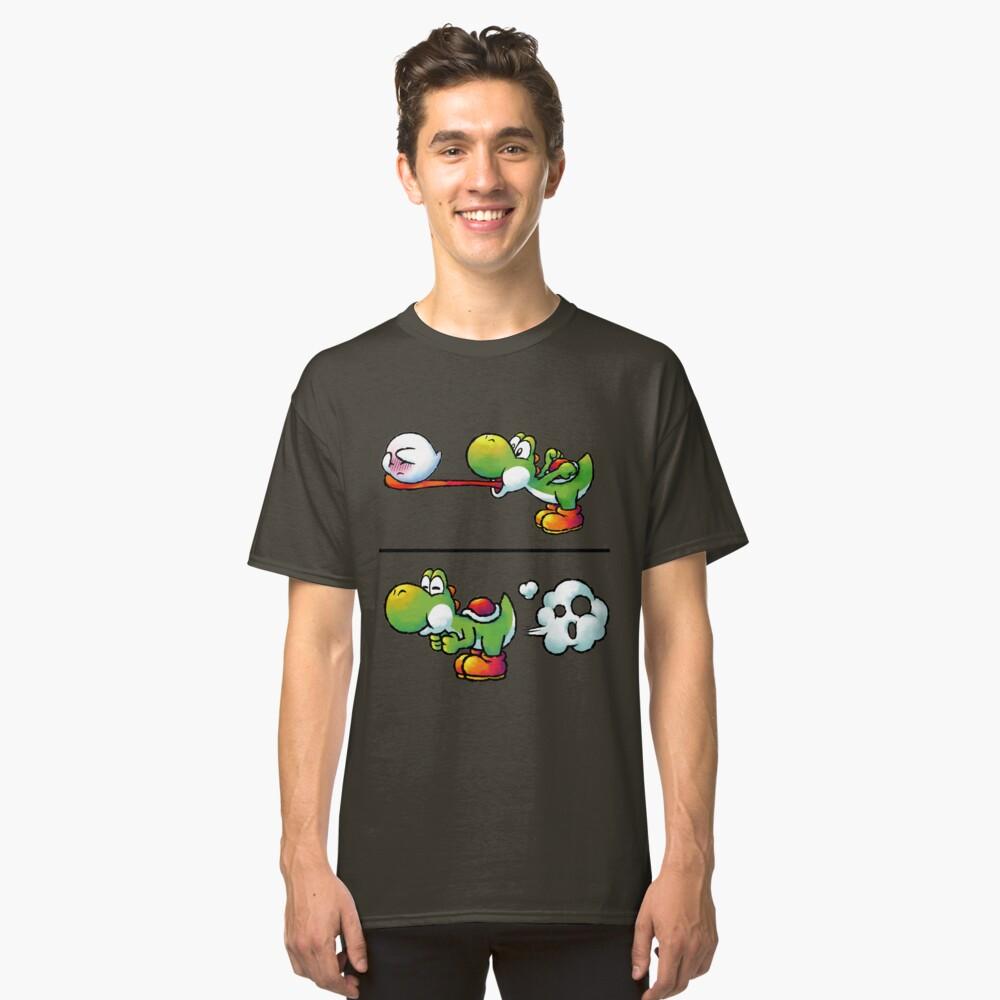 Farting Yoshi Classic T-Shirt