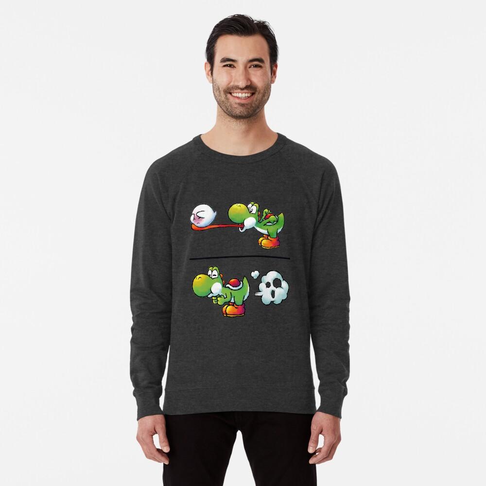 Farting Yoshi Lightweight Sweatshirt
