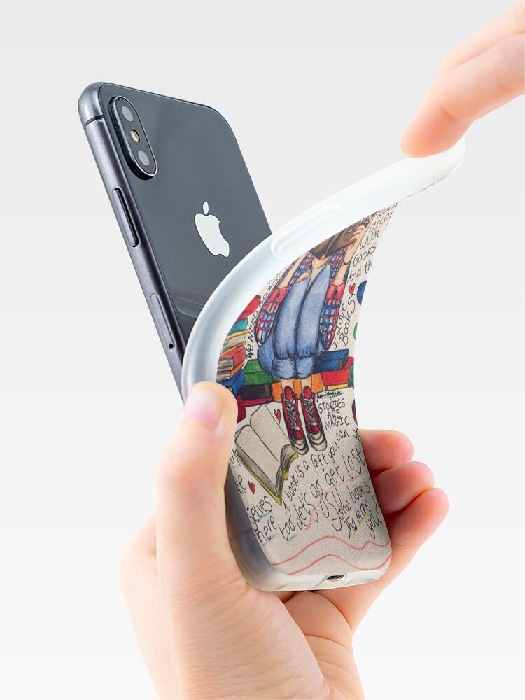 Alternative Ansicht von Lesen ist träumen mit offenen Augen. iPhone-Hülle & Cover