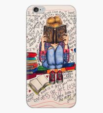 Reading is Dreaming with Open Eyes. iPhone Case