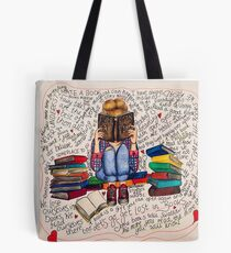 Reading is Dreaming with Open Eyes. Tote Bag