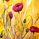 For The Love Of Poppies by Ruth Palmer