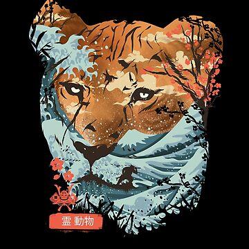 Geist-Tier-Tiger von dandingeroz