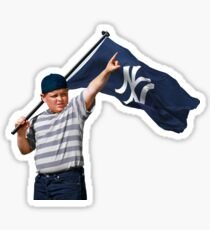 NY, NEW YORK, THE SANDLOT, YANKEES ZAHNRAD, NEW YORK YANKEES MERCH FAN ART & GEAR Sticker