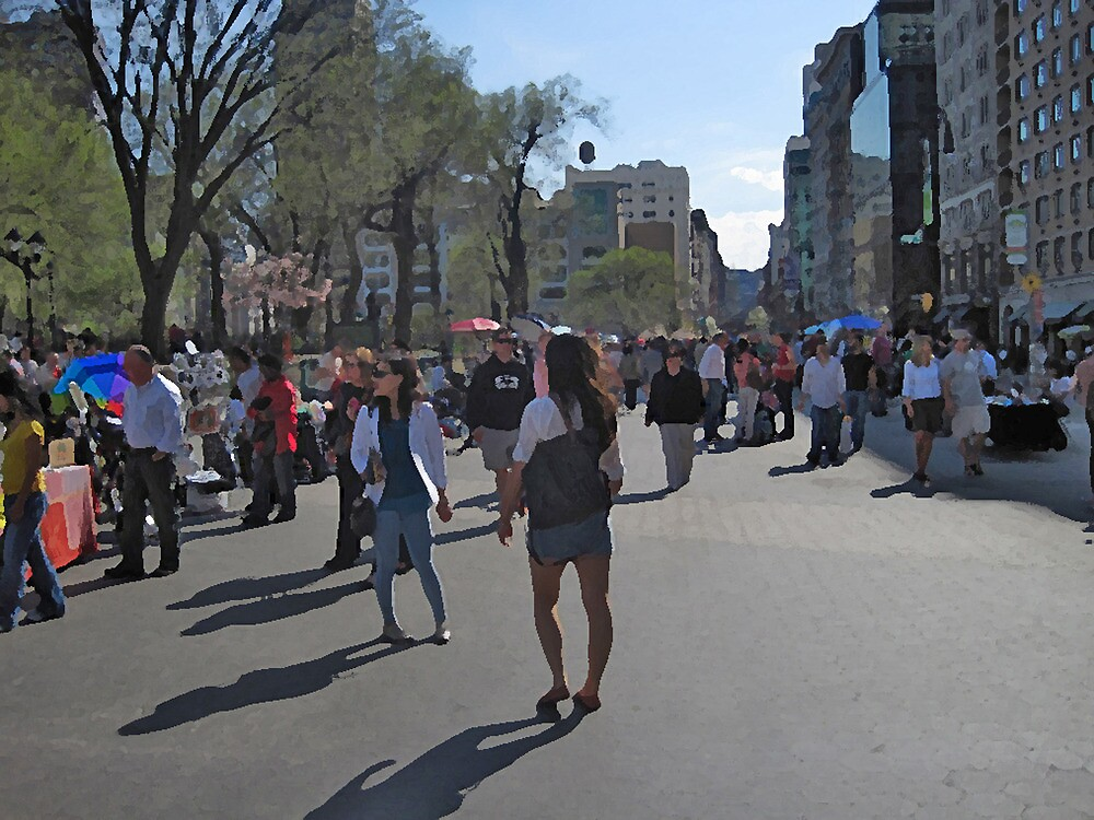 Easter Sunday in Union Square by Danny Drexler