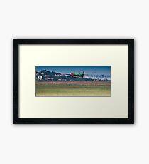 Flying Lion – ZU-BEU - Harvard Aerobatic Team Framed Print