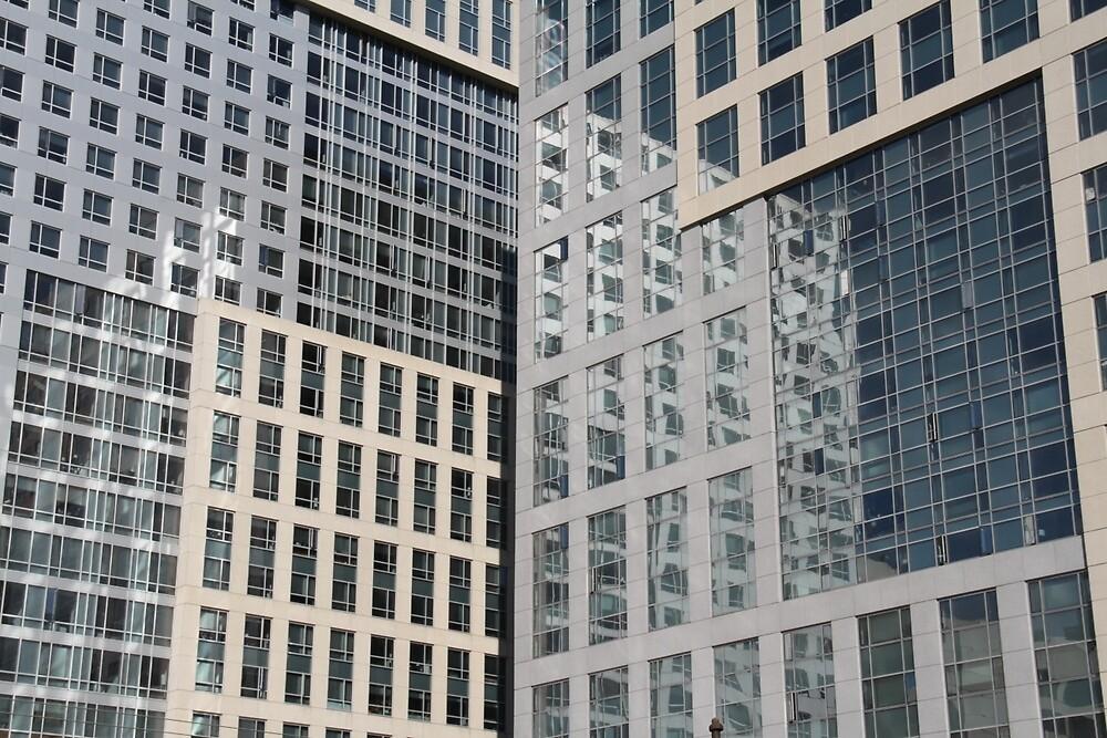 CITY WINDOWS by NickBentonArt