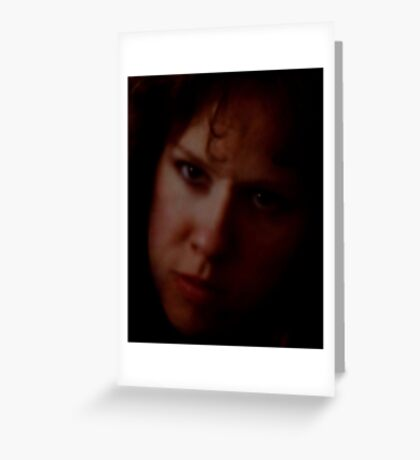 A Serious Moment with My Wife Greeting Card