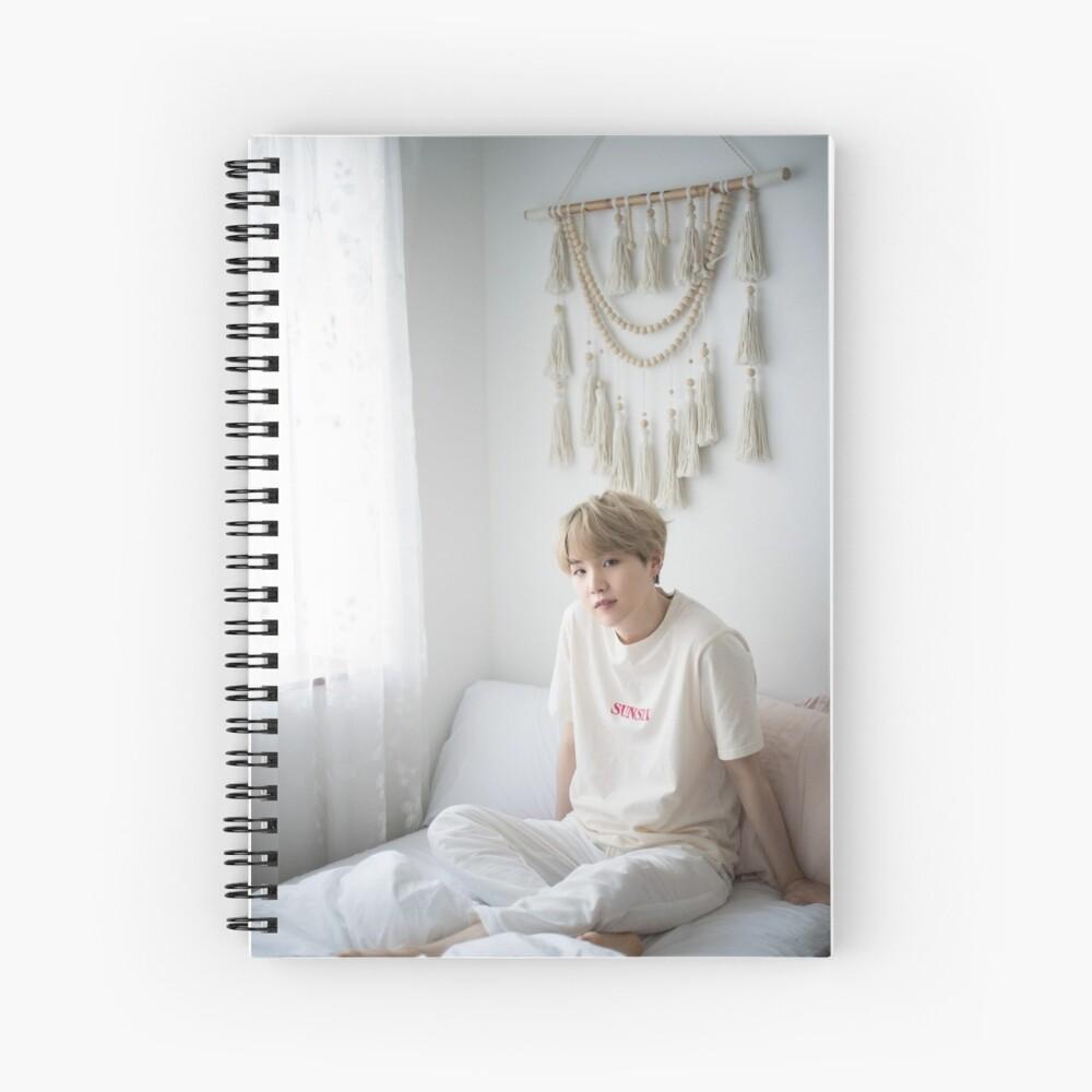 Suga Min Yoongi BTS Retrato 2019 Cuaderno de espiral