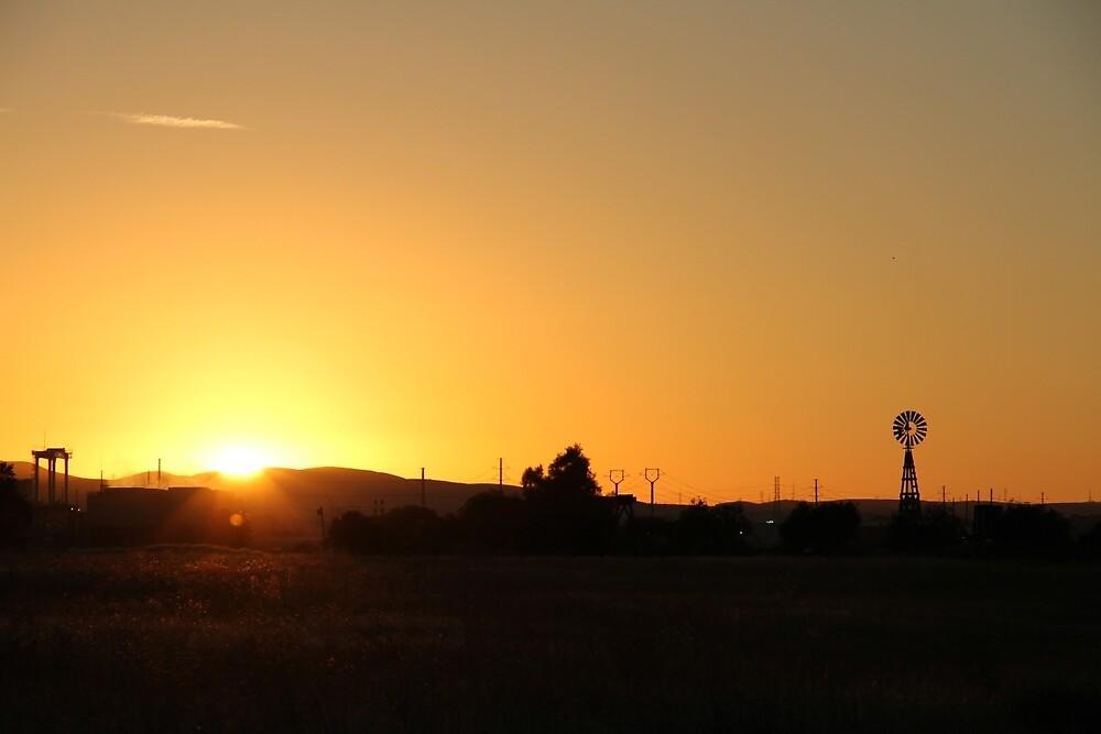 Sunset by NickBentonArt