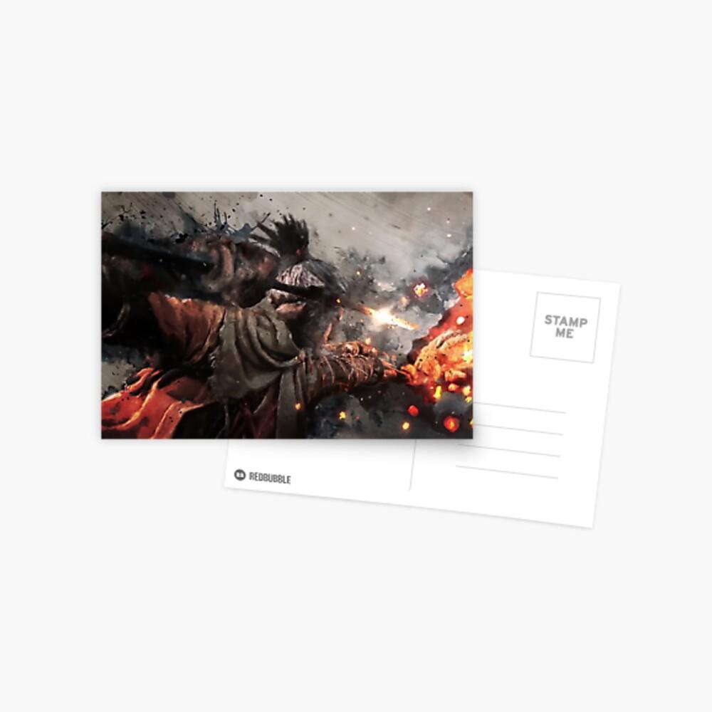 Sekiro - Todesstoß Postkarte