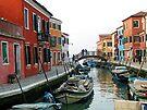 6AM Sunday Morning - The Island of Burano,  Italy by T.J. Martin